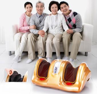 Máy massage bắp chân và bàn chân thế hệ mới (Vàng)