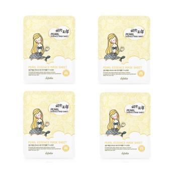 Bộ 4 gói Mặt nạ dưỡng da tinh chất ngọc trai PURE SKIN 25ml