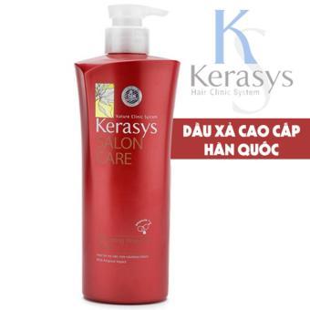 Dầu xả dành cho tóc xoăn yếu Kerasys Salon care Voluming cao cấp Hàn Quốc 600ml