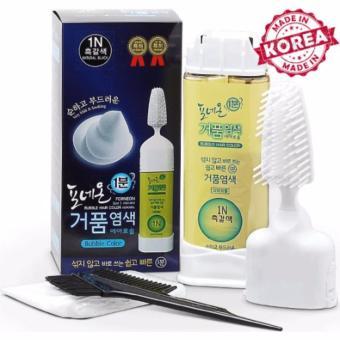 Lược nhuộm tóc Hàn Quốc Forneon (Nhuộm nâu đen tóc bạc)