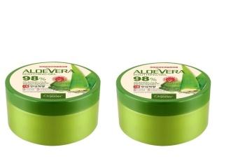 Bộ 2 gel dưỡng thể Nha Đam ORGANIA Aloe Vera Soothing Gel 98% 2 x 300g