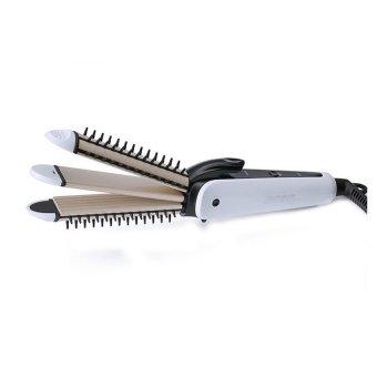 Máy tạo kiểu tóc 3 trong 1 uốn bấm duỗi JINGDING 3317 (Trắng )