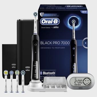 Bàn chải điện đánh răng tự động Oral-B braun pro 7000 Black (Đen) dòng cao cấp nhất của Oral-B