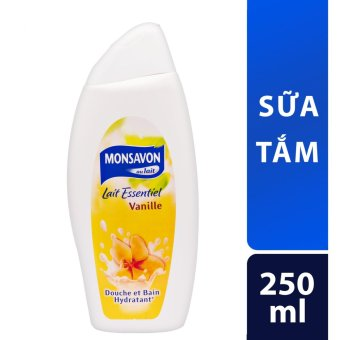 Sữa tắm Monsavon chiết xuất hoa vani 250ml