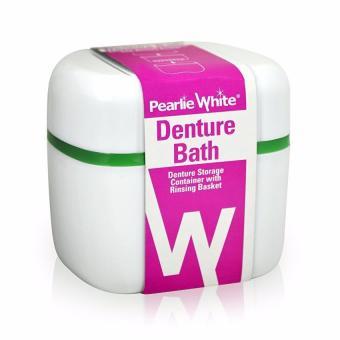Hộp Đựng Răng Giả Pearlie White x2 hộp