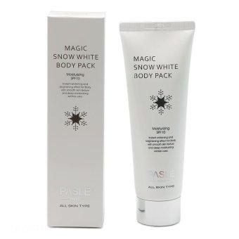 Kem trắng da toàn thân tức thì Pasle Magic Snow White Body Pack 120ml