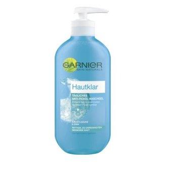 Sữa rửa mặt Garnier Hautklar Tägliches Anti-Pickel Wasch Gel 200ml