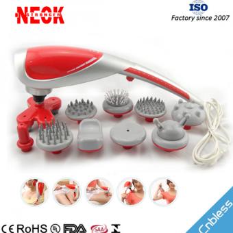 Máy massage cầm tay 10 đầu neck 669 công nghệ nhật