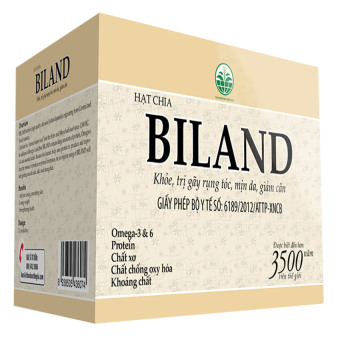 Hạt chia giảm cân BILAND HC500 500G