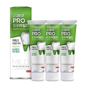 Kem đánh răng ngăn ngừa sâu răng 2080 Pro Mild Sensitive Hàn Quốc 125g - Hàng Chính Hãng