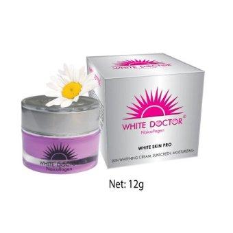 Kem trắng da - Chống nắng - Giữ ẩm White Doctor Naicollagen 12g