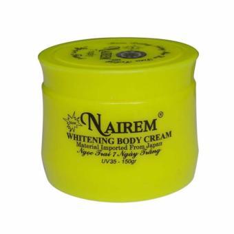 Kem dưỡng trắng da toàn thân tinh chất ngọc trai Nairem (150g)