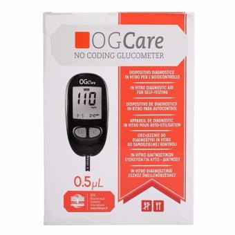 Máy đo đường huyết Ogcare Italy - Hộp có sẵn 10 que