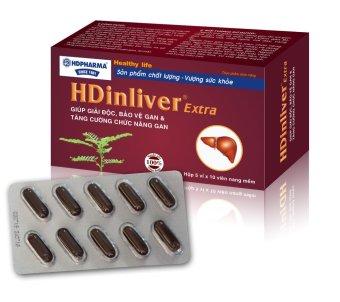 Viên uống giải độc, bảo vệ và tăng cường chức năng gan HDInliver extra