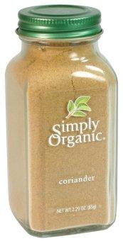 Gia vị Ngò Rí rau mùi Simply Organic Coriander 65g