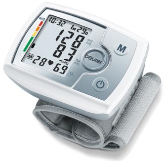 Máy đo huyết áp điện tử cổ tay Beurer BC31 (Trắng)