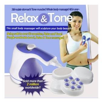 Máy massage cầm tay Relax & Spin Tone (3 đầu massage)