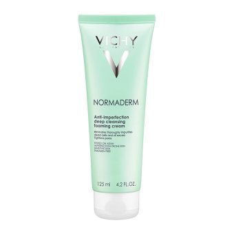 Sữa rửa mặt ngăn ngừa mụn VICHY Normaderm Anti-imperfection Deep Cleansing Foaming Cream 125ml
