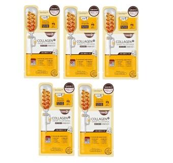 Bộ 5 gói Mặt nạ 2 bước phục hồi da từ collagen Mediheal Collagen Plus Smart Filler Mask 28ml x5