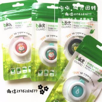 Bộ 2 kẹp chống muỗi tinh dầu thảo dược Bikit Guard (Xanh)