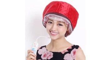 Mũ hấp tóc cao cấp Huy Linh(Đỏ)