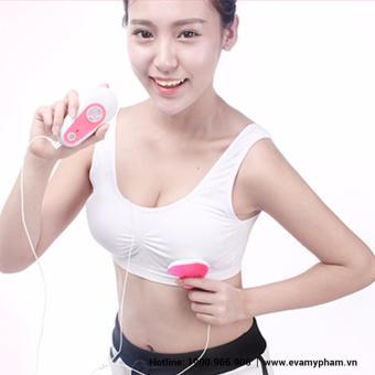 Máy massage nâng nở ngực chính hãng Eva Essence D07-1 (Trắng hồng)