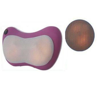 Gối mát-xa hồng ngoại Massage Pillow PL-819 (Trắng phối Tím)