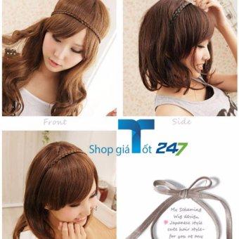 Combo 02 băng đô tóc tết cho bạn gái (Đen)