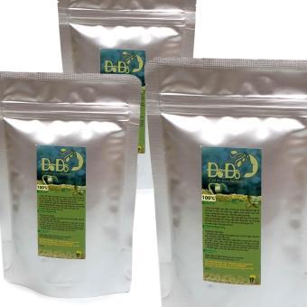 Tinh Bột Mầm Đậu Nành Đô Đô set 3 gói 100g (hàm lượng cao vị cỏ ngọt)