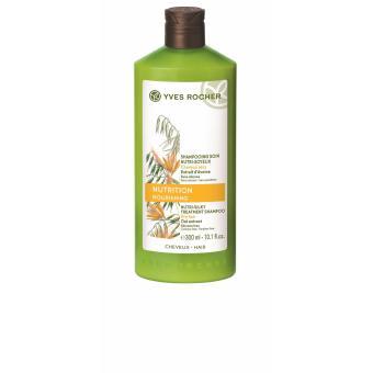 Dầu gội dành cho tóc khô Yves Rocher Nutri-Silky Treatment Shampoo 300ml