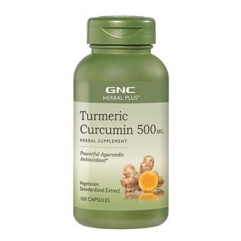 Viên uống thảo dược GNC Turmeric Curcumin 500MG 100 viên