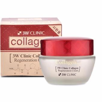 Kem Dưỡng Da Chống Lão Hóa 3w Clinic Collagen Regeneration Cream 60 Ml
