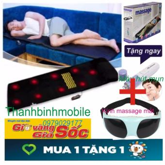 Nệm Massage Mát Xa Toàn Thân+Tặng kính mat xa và máy hút mụn