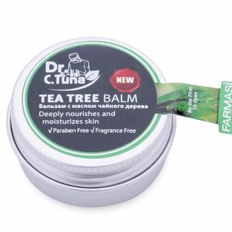 Sáp Dưỡng Ẩm Cho Môi Khô, Da Tay, Gót Chân Chiết Xuất tinh dầu cây trà Úc Farmasi 15ml
