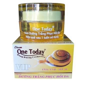 Kem dưỡng trắng phục hồi da Ốc Sên One Today Vip 20g