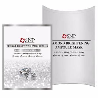 Mặt nạ dưỡng tinh chất kim cương SNP Diamond Brightening Ampoul Mask 25ml