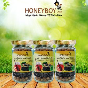 Bộ 3 Nghệ Đen Mật Ong Honeyboy 80g