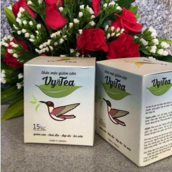 Bộ 2 hộp trà thảo mộc giảm cân Vy & Tea (liệu trình 30 ngày)