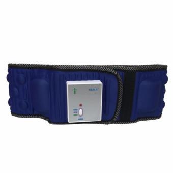 Đai massage bụng X5 tích hợp pin ( xanh)