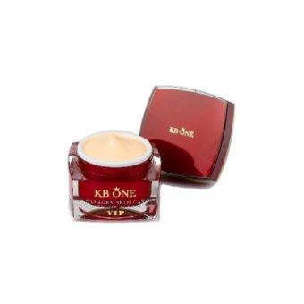 Kem dưỡng trắng da ngừa nám tăng cường collagen KBone kbone VIP 15g (Đỏ)