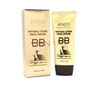 Kem chống nắng trang điểm từ ốc sên Anjo Natural Cover Snail Sun BB SPF50+ PA+++ 50ml