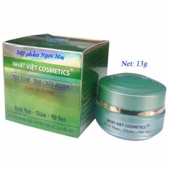 Kem trị mụn – Xóa thâm – Mờ sẹo Nhật Việt Cosmetics 13g
