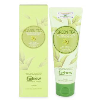 Tẩy tế bào chết trắng da tái tạo da mới trà xanh cao cấp Hàn Quốc Benew Green Tea Peeling Gel 120ml Chính Hãng