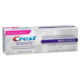 Kem đánh răng trắng răng Crest 3D Brilliance 116g