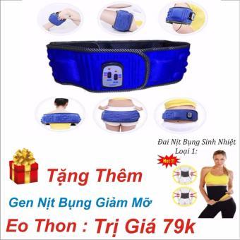 Đai massage X5, 3 chế độ giảm eo cân toàn thân +Gen nịt bụng sinh nhiệt giảm mỡ eo thon