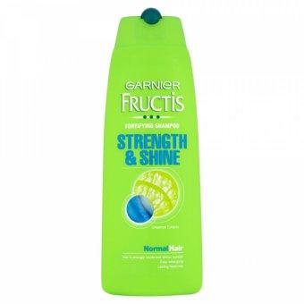 Dầu gội Garnier Fructis Strength & Shine dành cho tóc thường 250ml - Italy