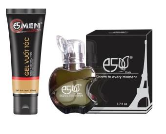 Bộ 1 Nước hoa nam E5 20ml và 1 gel vuốt tóc nam 120ml