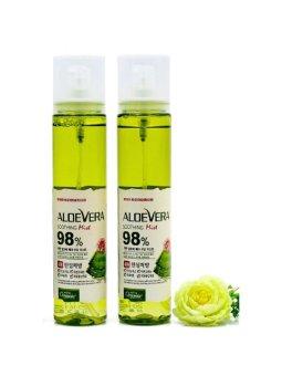 Bộ 2 Bình Xịt Khoáng Dưỡng Ẩm Từ Nha Đam White Organia Good Nature Aloe Vera Soothing Gel Mist 115ml X 2