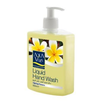 Nước rửa tay Hương hoa mùa xuân AquaVera Liquid Hand Wash 500ml # Spring Flowers
