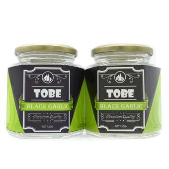 Tỏi đen cô đơn TOBE-Combo 2 hũ thủy tinh 300 gram(trừ bì).